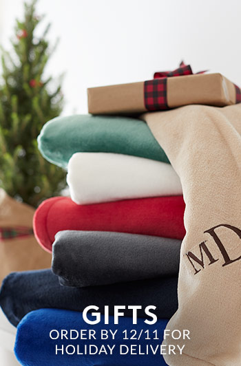 Gifts: Order by 12/11 for Holiday Delivery