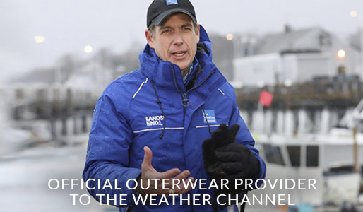 Official Outerwear Provider to the Weather Channel