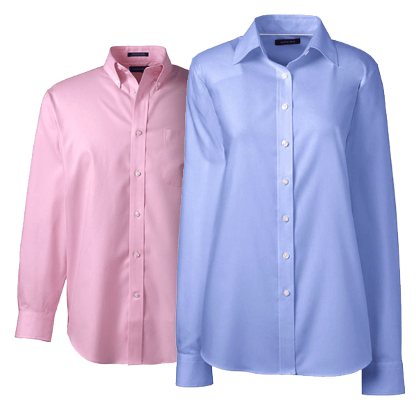 Women No Iron Broadcloth Shirt