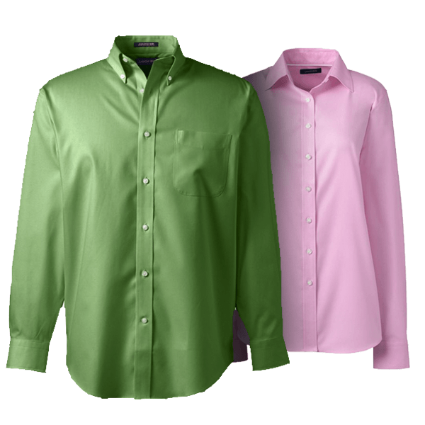 Men No Iron Pinpoint Shirt