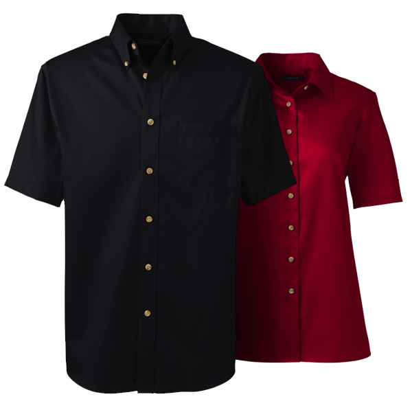 Men Performance Twill Shirt