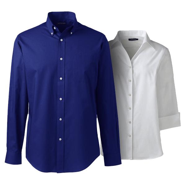 Custom Logo Dress Shirts Lands End Business
