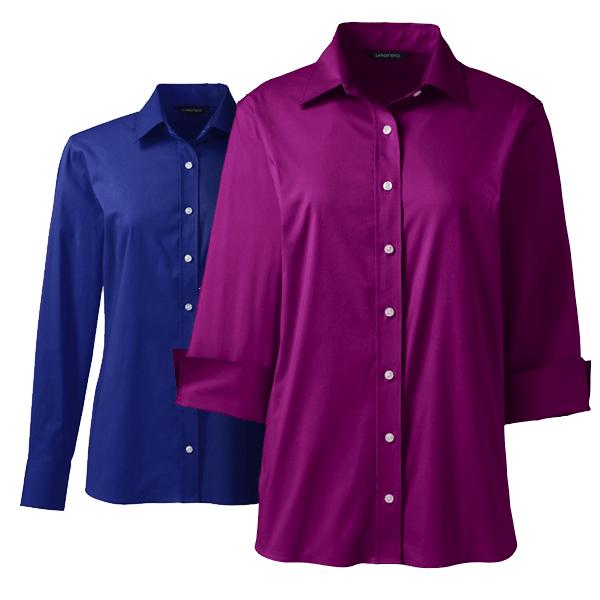 Women Space Dye Polo Shirt