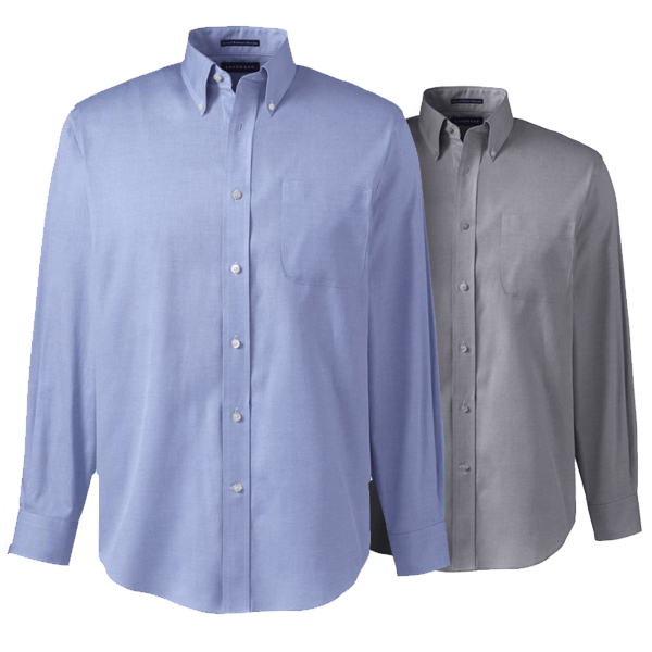 Men Supima Pinpoint Shirt