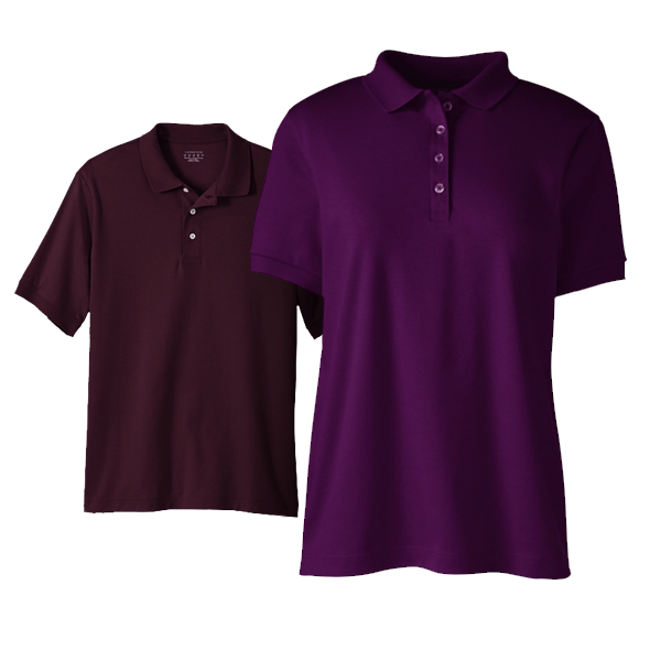 Women Pima Interlock Polo Shirt