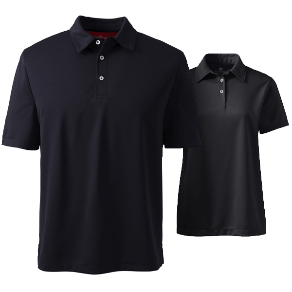 Men Active Piqué Polo Shirt