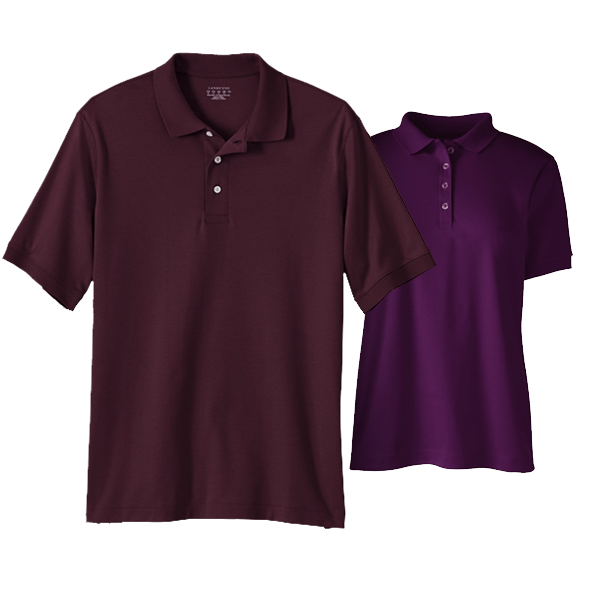 Men Pima Interlock Polo Shirt