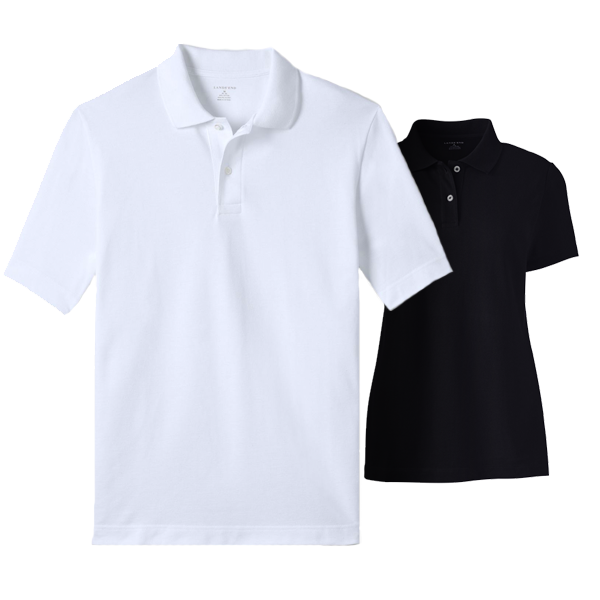 Men Basic Mesh Polo Shirt