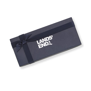 Lands' End gift box.